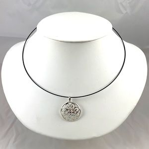 Sterling Silver Pendant Necklace NWOT
